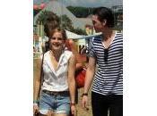 Emma Watson George Craig Glastonbury festival