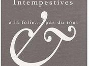 Correspondances intempestives