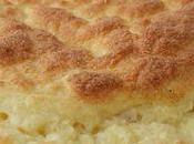 Soufflé courgettes parmesan