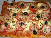 Pizza chorizo/chèvre