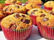 Muffins noix coco pépites chocolat