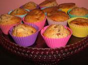 Muffins dattes, banane amandes