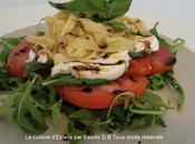 Tagliatelles fraîches saveurs d'Italie (Roquette, Mozzarella, tomates)