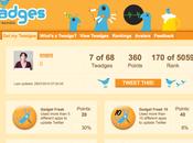 Twitter badges Twadge