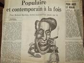 Roland Barthes populaire contemporain