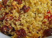 Crumbles légumes d'été chorizo