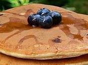 Pancakes multigrains bleuets l'érable