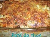 Délicieux Paté thon sauce ciboulette