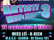 Artistes HipHop, show avec Miss Leï, K-Reen, M.A.S.S etc.