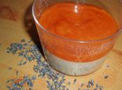 Panna Cotta lavande, coulis d'abricots