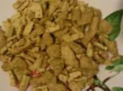 Sauté Tofu Blanc poulet curry d'elodie