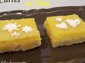 Carrés citron