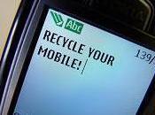 Recyclage téléphones mobiles