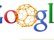 Doodle Google fullerène interactif [Buckyball]