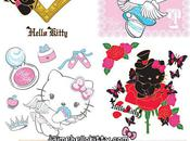 Japon stickers muraux Hello kitty