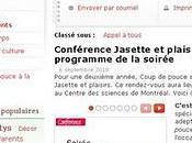 Coup Pouce Conférence Jasette plaisirs!