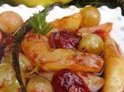 Fricassée fruits d'automne chaud