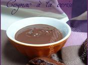 Ganache chocolat aromatisée Cognac cerise