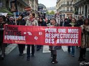 Marche contre fourrure 2010, Paris.