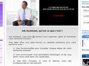 Aide accompagnement recherche d'emploi lancement site Assistant