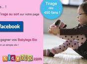 Tirage sort Facebook: Babylegs gagner