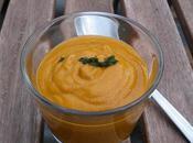 Soupe lentilles corail, lait coco curry