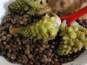 Champerloises, chou romanesco poulet soja