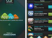 Application officielle AppVip dispo l'App Store