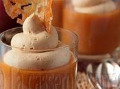 Cent-vingt-neuvième participation Tuiles l'érable verrines purée pommes caramélisées Chantilly caramel
