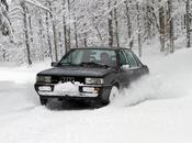 Audi Quattro dans Vercors