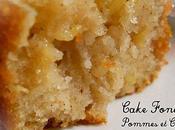 Cake Fondant Pomme-Cannelle