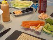 Atelier sushi samedi décembre 2010