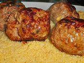 Boulettes viande menthe cumin couscous cannelle