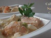 Cassolettes poisson crémeuses: saumon, cabillaud crevettes.