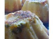 Moelleux poires clémentines pistaches coulis