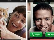 Skype Mise jour avec visioconférence