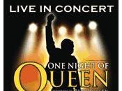 night Queen spectacle concert
