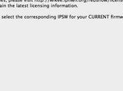 Jailbreak 4.2.1 Redsn0w 0.9.6 jour pour faciliter reboot