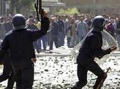 Alger Affrontements violents lundi matin Bachdjerrah