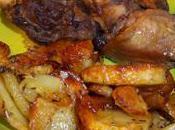duck wings confit their roasted potatoes manchons canard confits leurs pommes terre confites