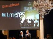 """cérémonie Prix Lumières """"Des Hommes dieux"""" """"The Ghost writer"""" dans lumière"""