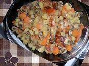 Poulet rôti légumes