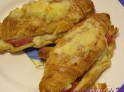 Croissants jambon