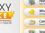 Galaxy Choixe, l'application applications compatibles avec