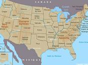 Carte Etats Unis pour lire John Irving