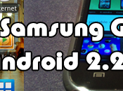 TEST Samsung Galaxy sous Android Froyo