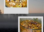 Pintade/abricots/amandes facon tajine