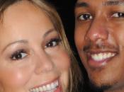 bleu rose pour Mariah Nick Cannon