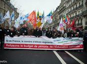 Manifestation pour l'Education. Paris, janvier.