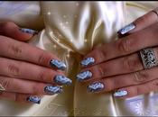 stroke Fleurs cristal Nail